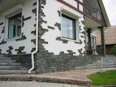 Облицовка фасадов и ее виды