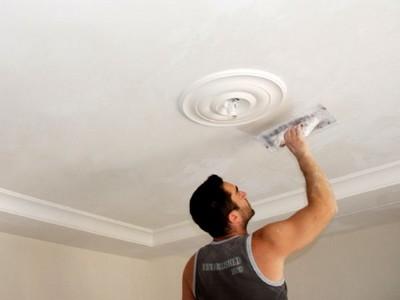 Некоторые особенности ремонта потолка.